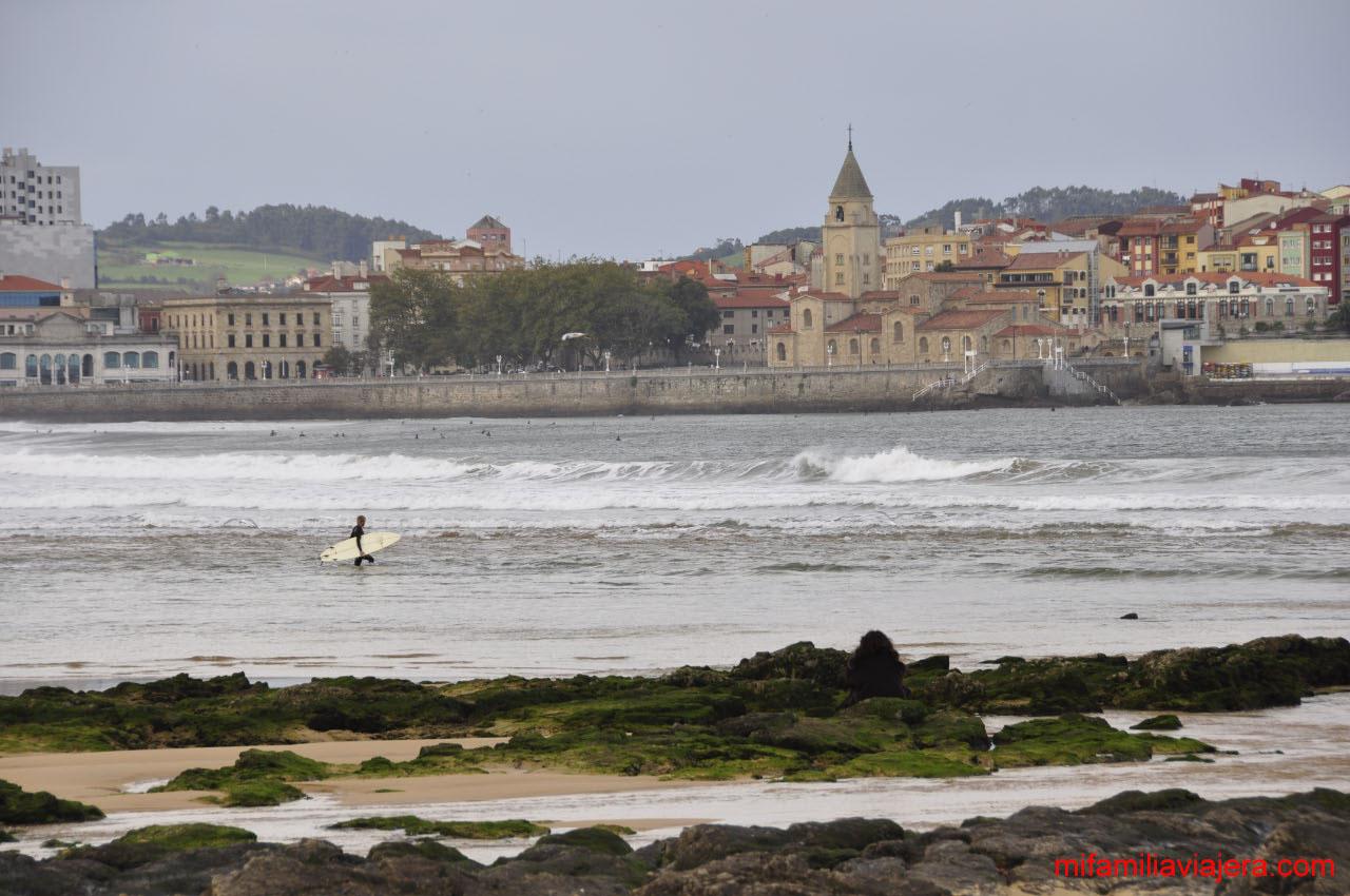 Senda verde El Cervigón. Gijón