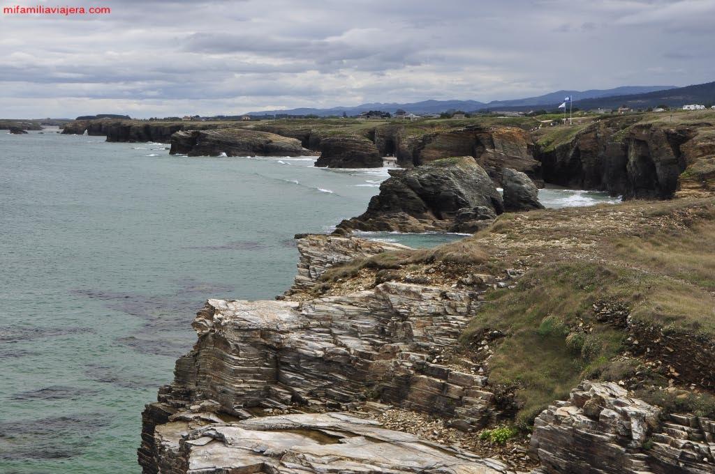 Vistas del litoral desde el mirador de Fotón
