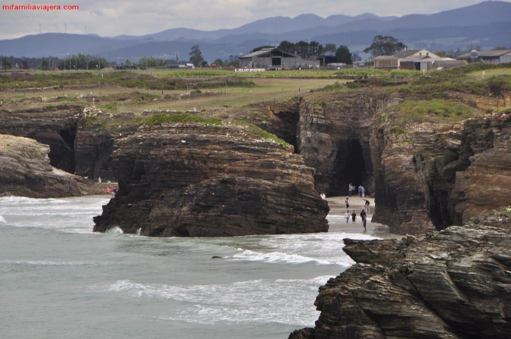 Panorámica de la playa desde el Mirador de Fotón
