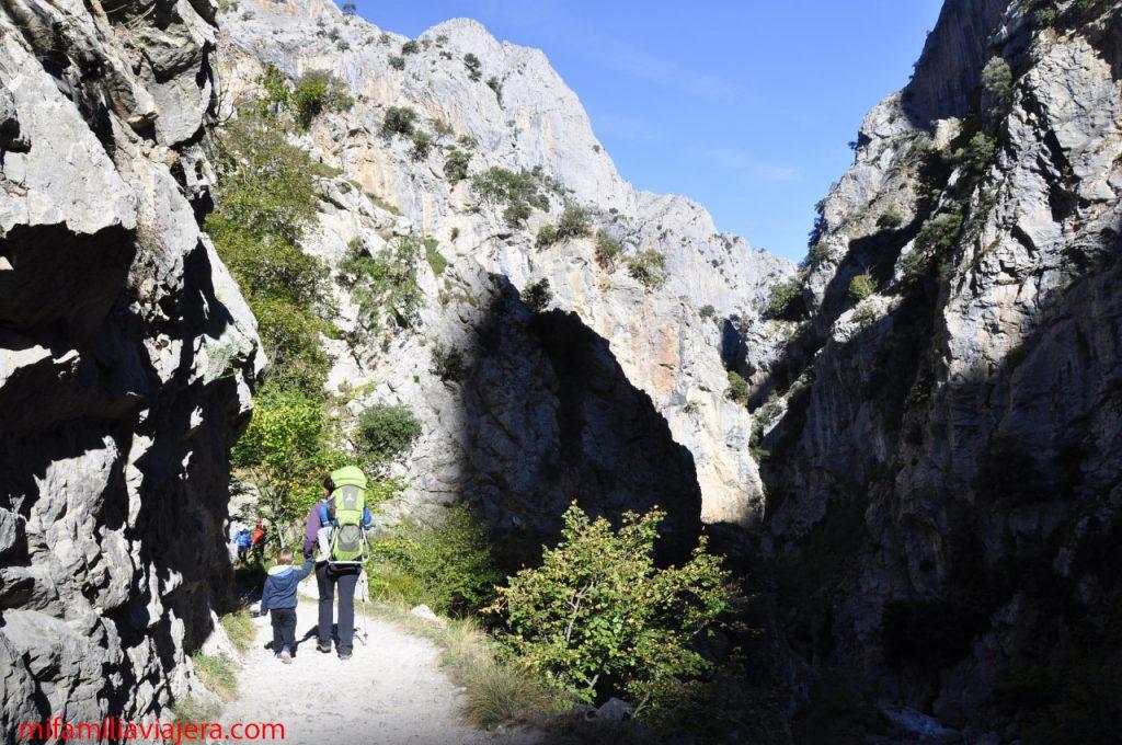 Senderismo con niños en Asturias