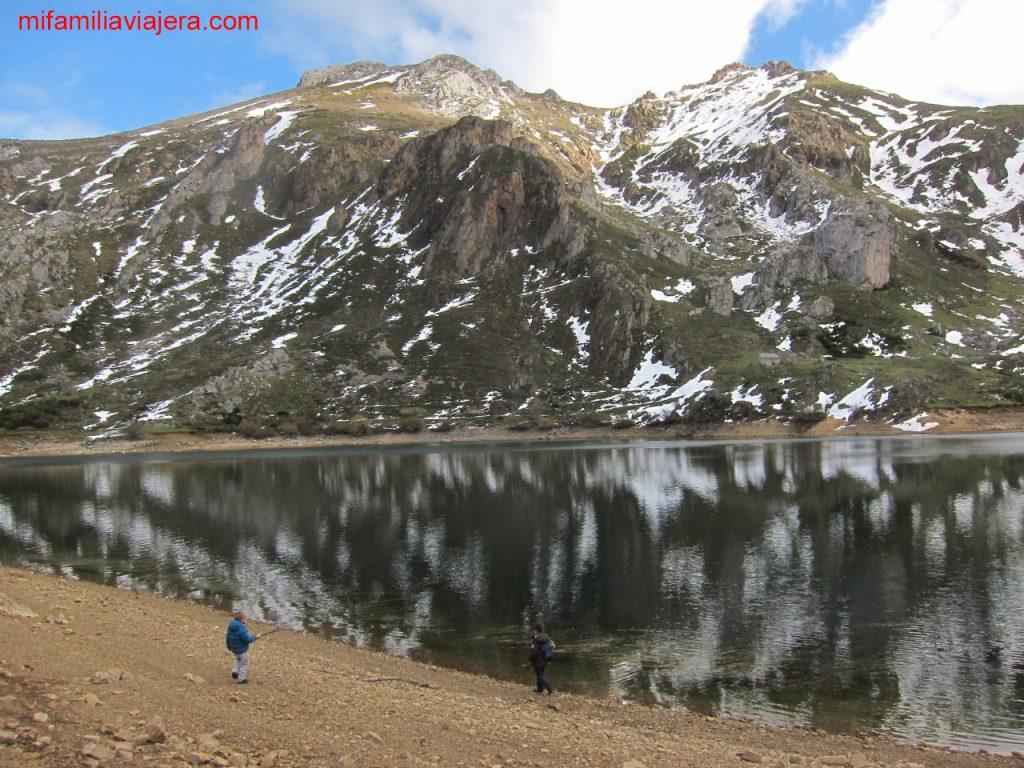 Senderismo con niños en Asturias Valle del Lago, Somiedo, Asturias