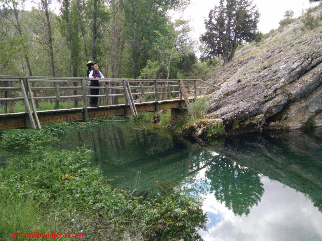 Puente sobre el río Abión