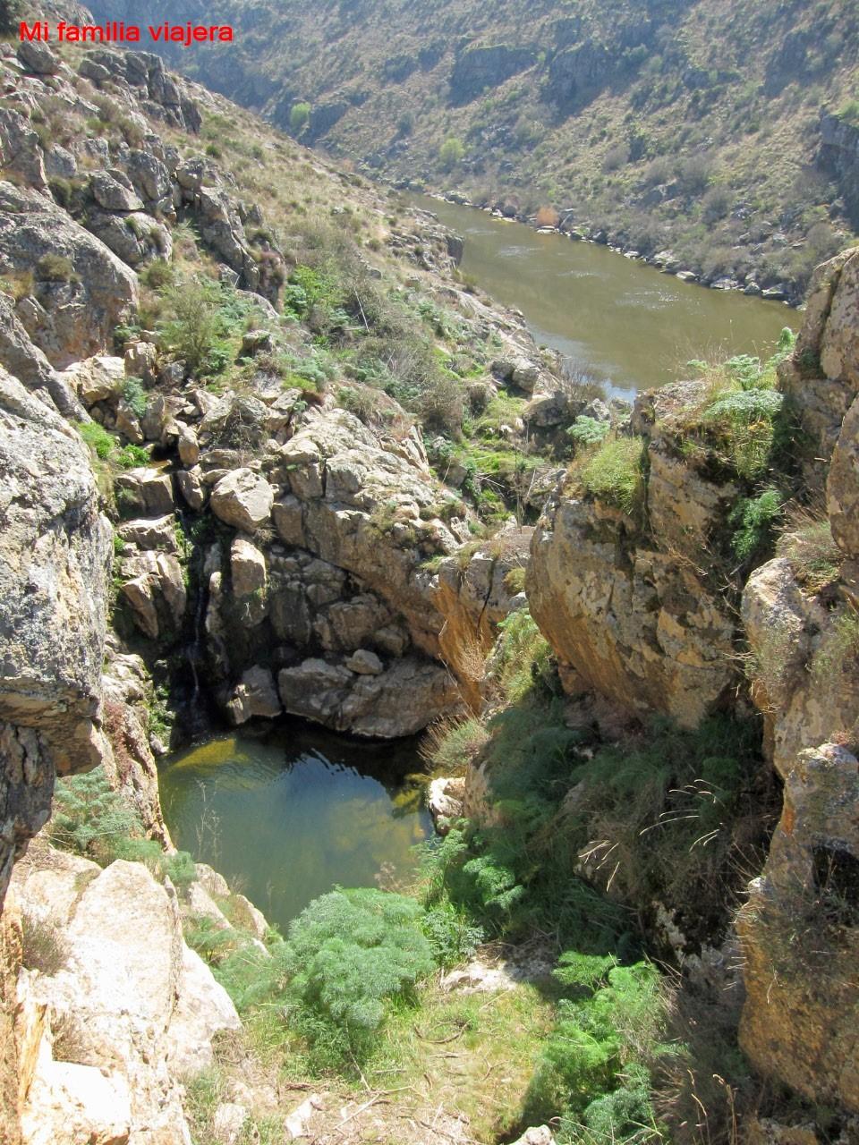 Senda Cascadas de Las Pilas-Arribes del Duero, Almaraz de Duero, Zamora