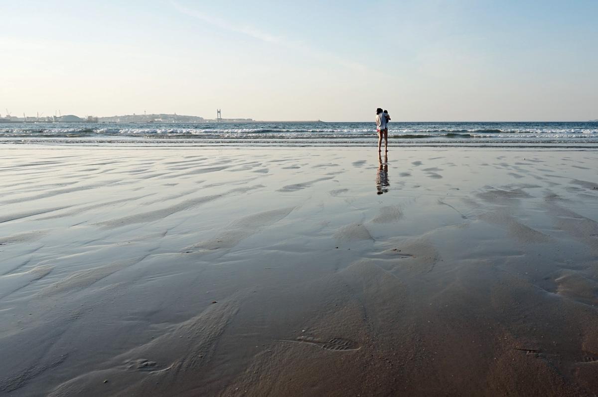 Playa en costa da Morte