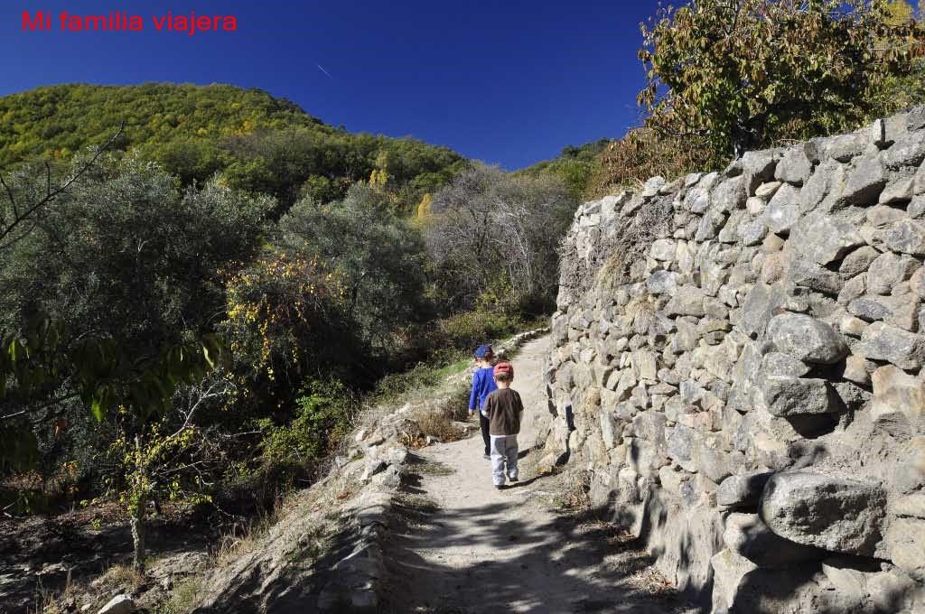 Camino del Agua, Mogarraz, Salamanca