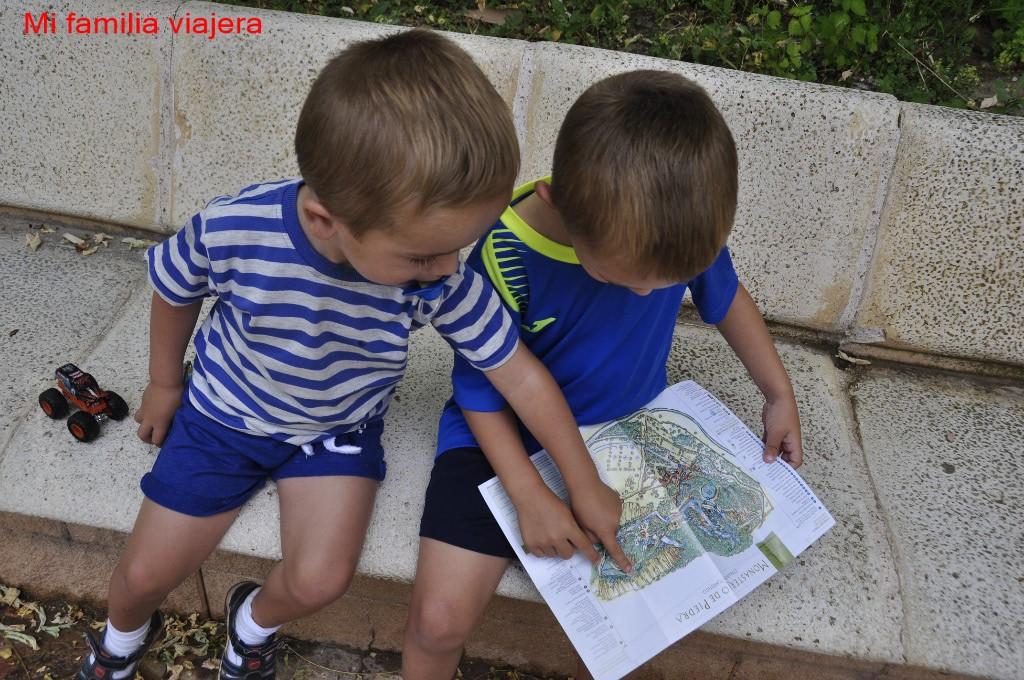 Cómo orientarte si vas con niños