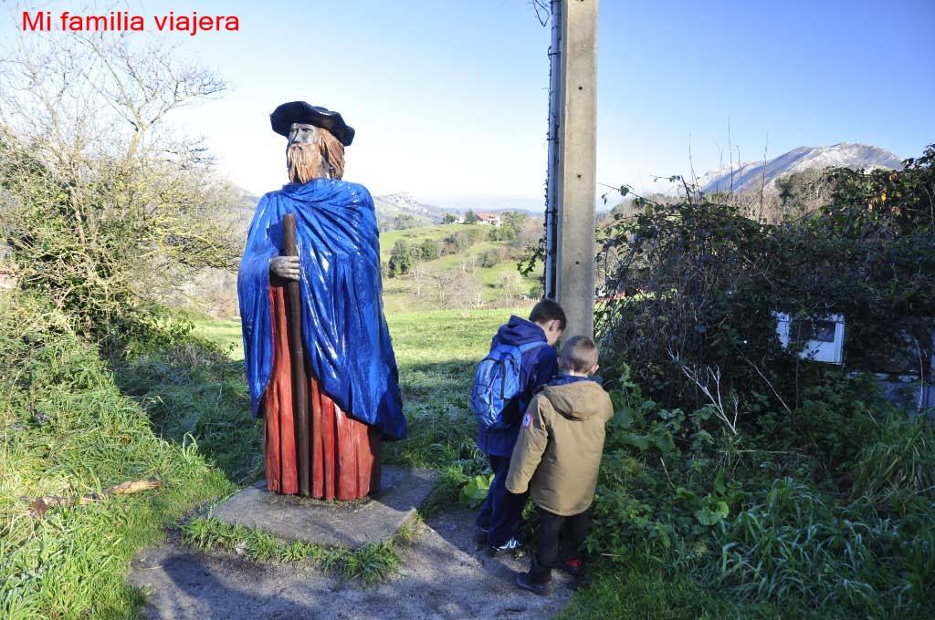 El Camín Encantáu, Llanes, Asturias