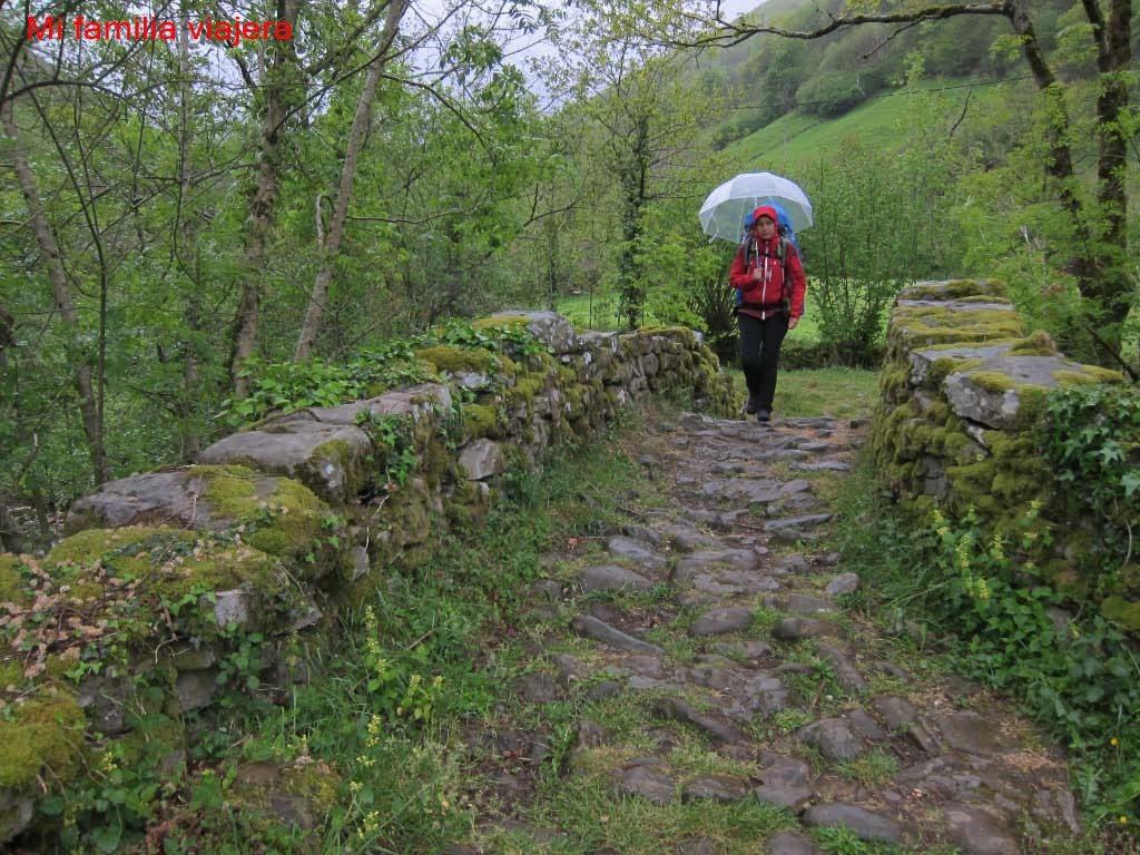 La lluvia no es impedimento para salir al campo