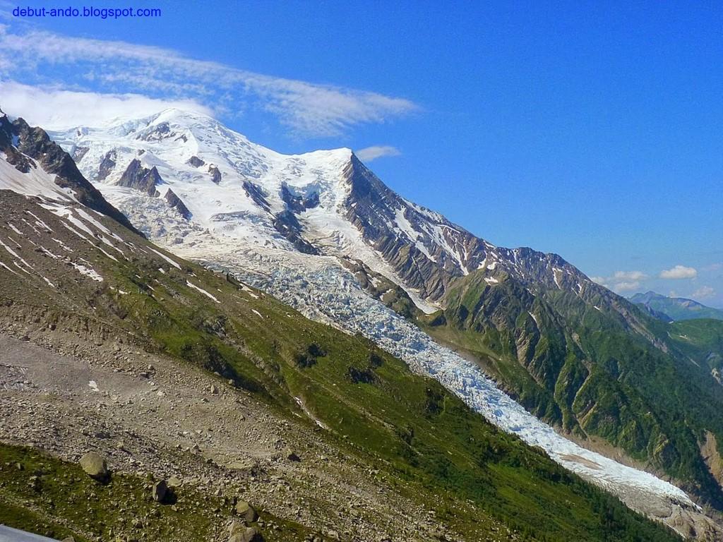 Glaciar de Bossons