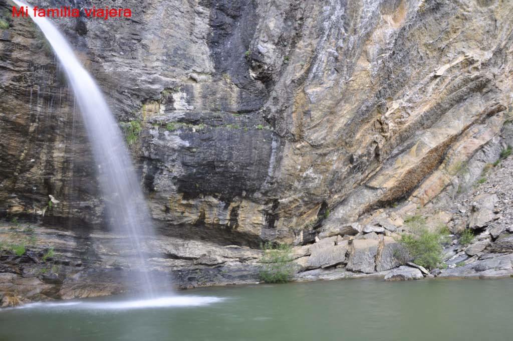Salto de Escarrilla, Valle de Tena, Huesca