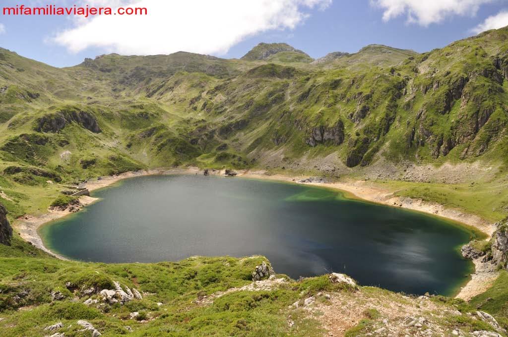 Lagos de Saliencia, Somiedo, Asturias
