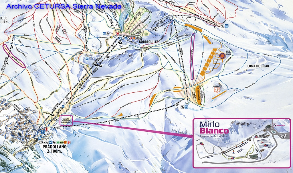 Estación de esquí Sierra Nevada, Granada