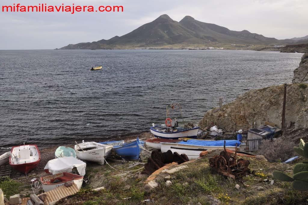 Pueblo pesquero Isleta del Moro
