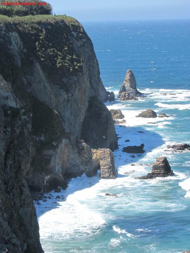 Acantilados de la Costa Verde asturiana