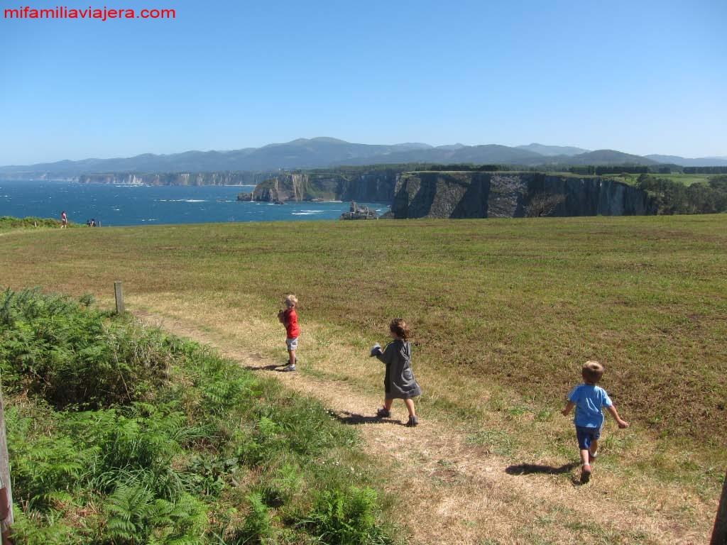 Senderismo con niños en Asturias Cabo de Busto, Asturias