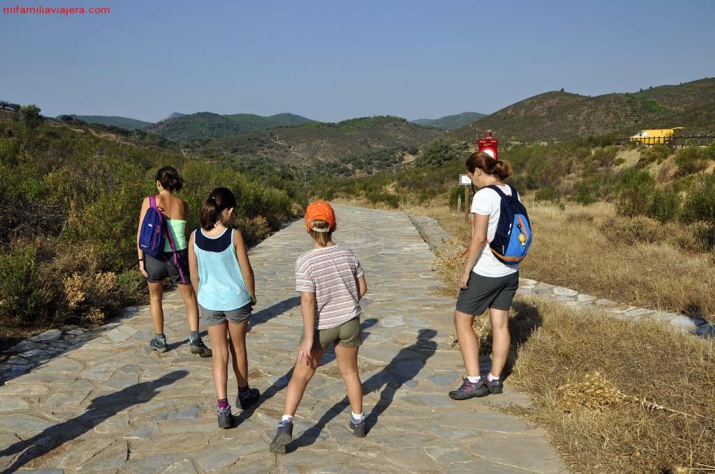 Inicio ruta Cerro Gimio