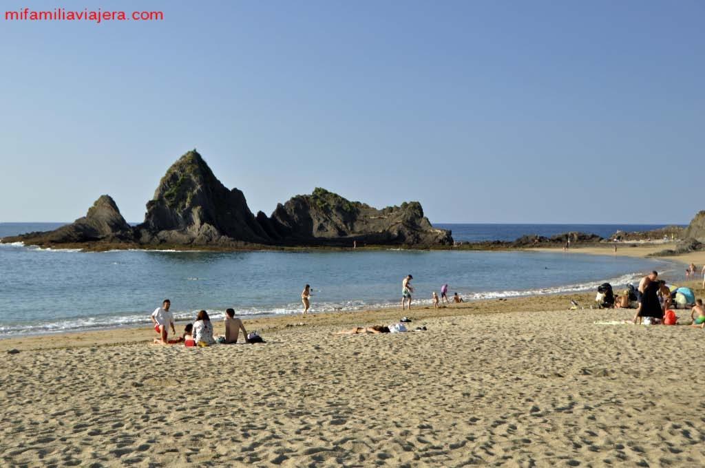 Playa de Saturrarán