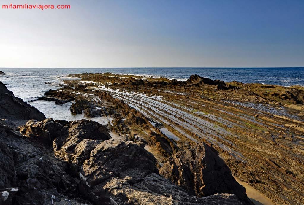 Flysch Playa de Saturrarán