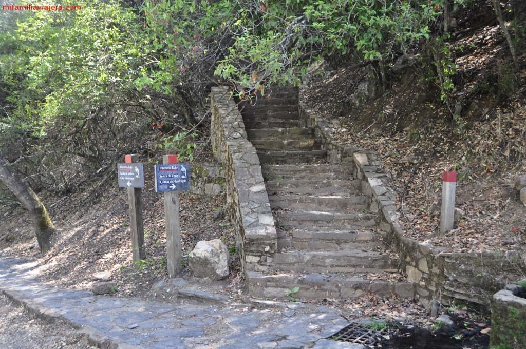 Senda Roja: Castillo de Monfragüe