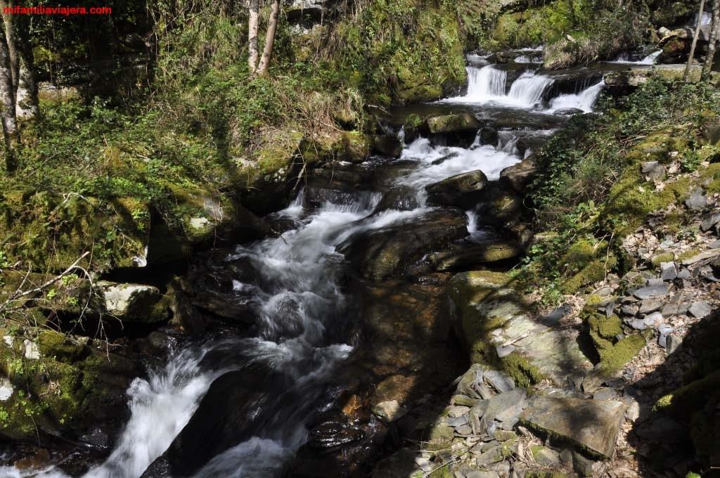 Cascada de la Seimeira, Santa Eulalia de Oscos, Oscos-Eo, Asturias