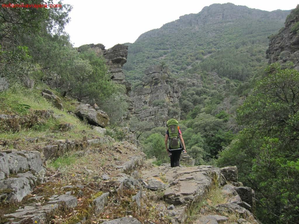 Camino superior del Valle Batuecas