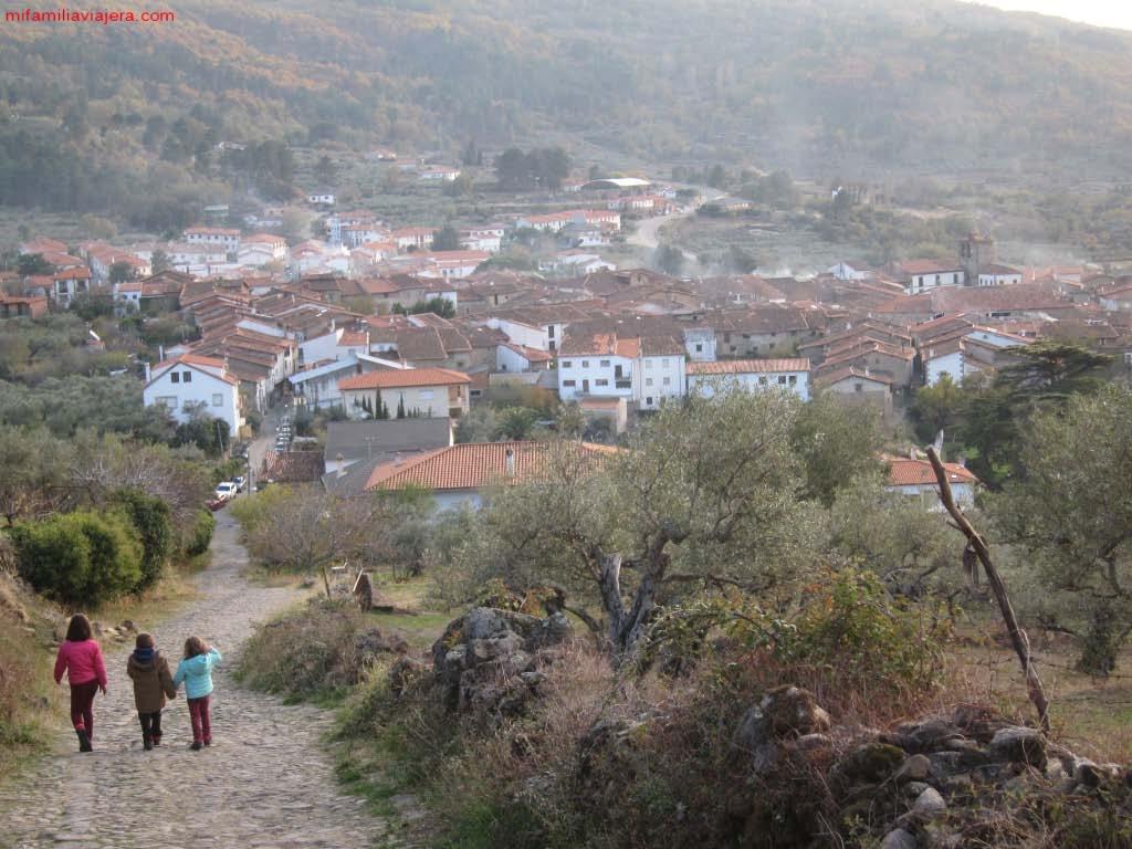 Puerto de Santa Clara, San Martín de Trevejo, Sierra de Gata, Cáceres, Extremadura