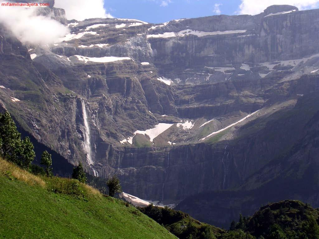 Circo de Gavarnie, Gèdre, Parque Nacional de Pirineos, Francia