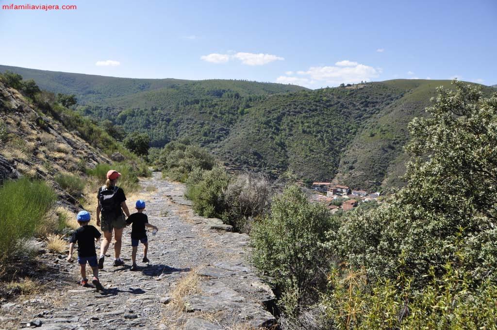 Camino de los Trasiegos, Sierra de las Quilamas, Salamanca