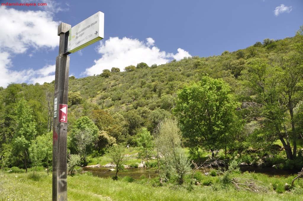 Ruta de los Tres Ríos, Sotoserrano, Salamanca