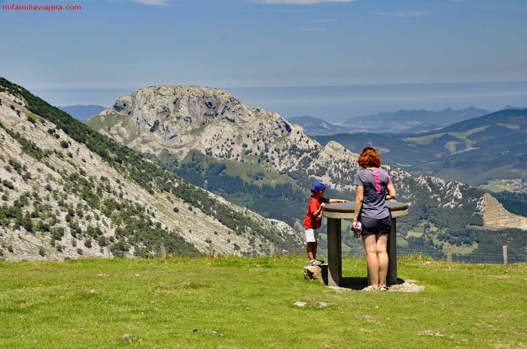 Monte Saibi, Parque Natural de Urkiola, País Vasco