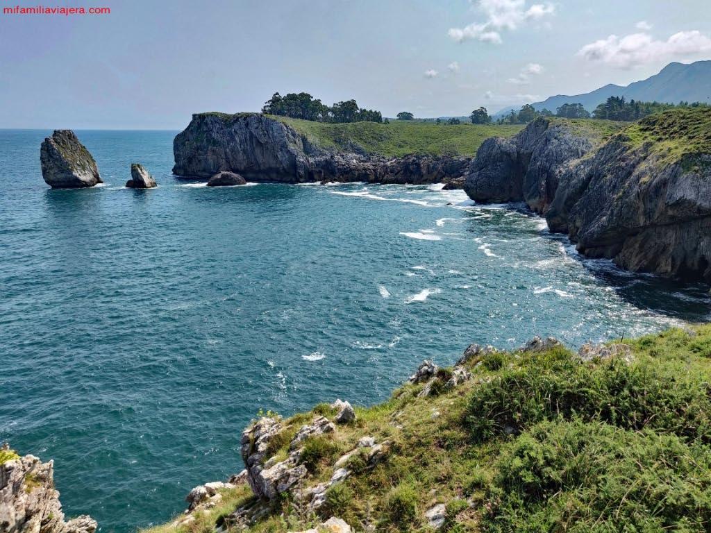 Acantilados del Infierno, Ribadesella, Llanes, Asturias
