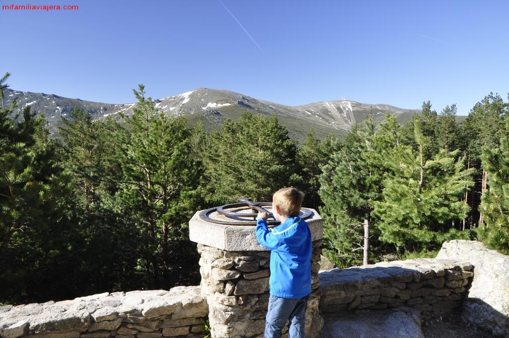 Parque Nacional de la Sierra de Guadarrama, Mirador de la Gitana, Madrid, Segovia