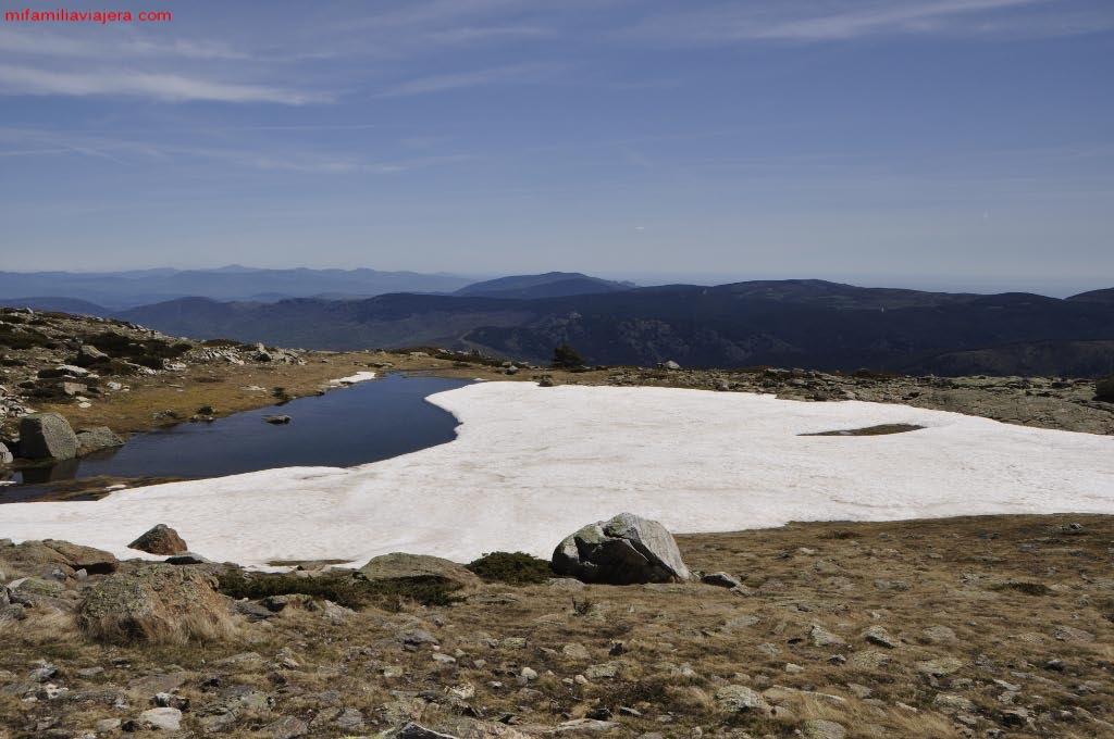 Parque Nacional de la Sierra de Guadarrama, Laguna de los Claveles, Madrid, Segovia