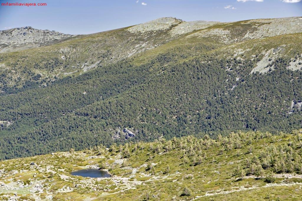Parque Nacional de la Sierra de Guadarrama, Laguna Chica de Peñalara, Madrid, Segovia