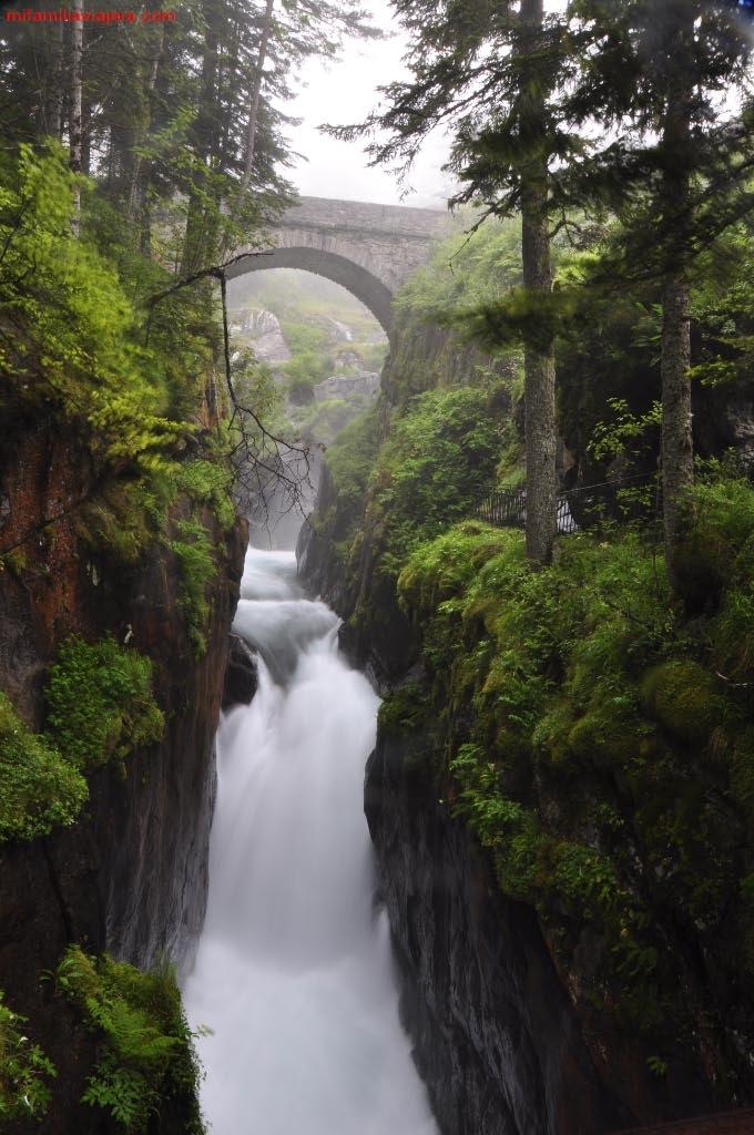 Pont d'Espagne, Cauterets, Parque Natural de los Pirineos, Francia