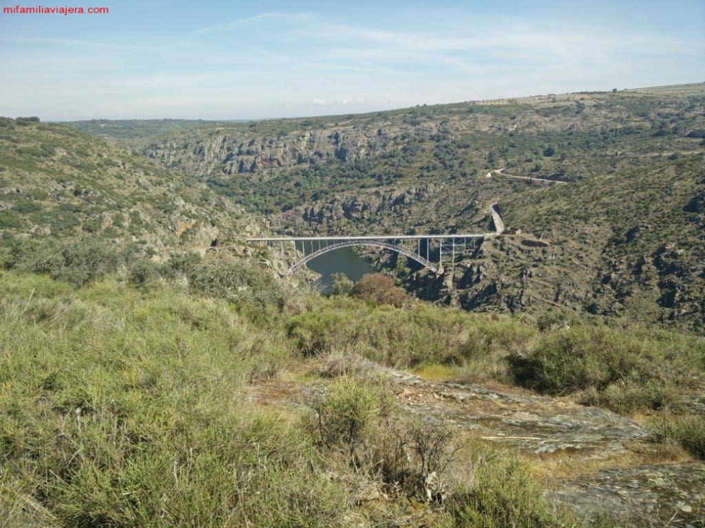 Puente Requejo, Mirador Centigosa, Villadepera, Sayago, Zamora