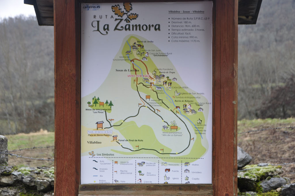 Cartel Ruta de La Zamora