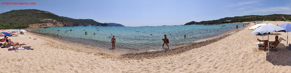 Playa Arone, Piana