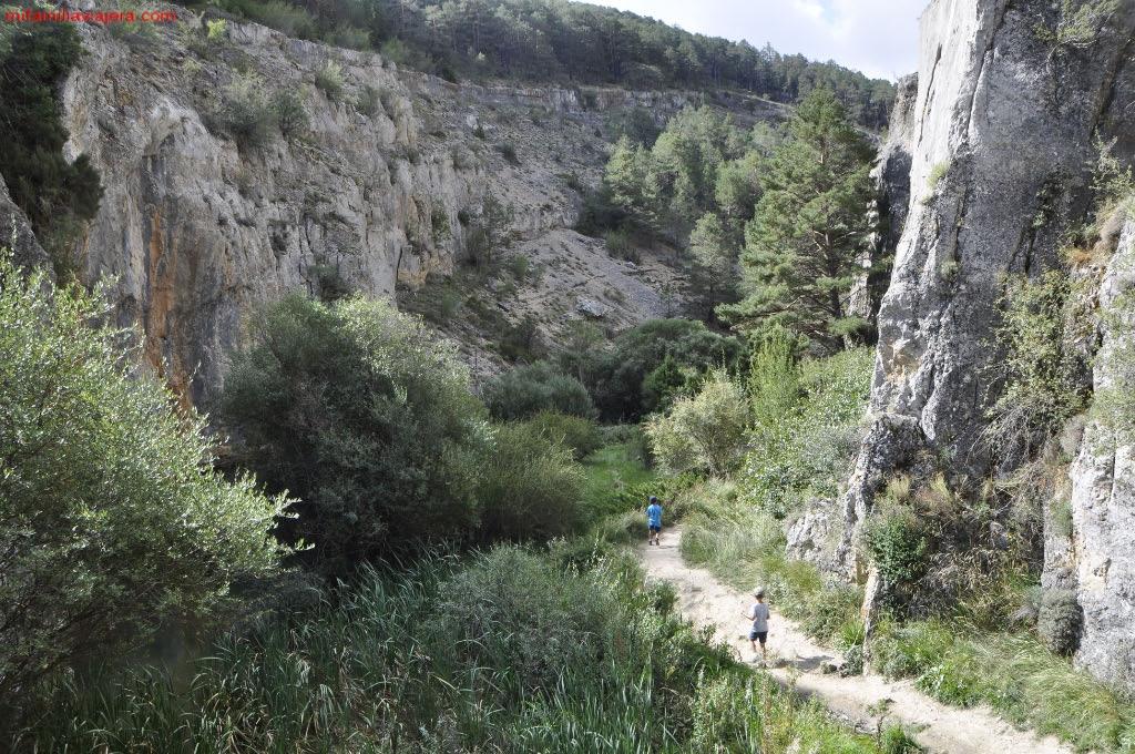 Desfiladero del Río Blanco