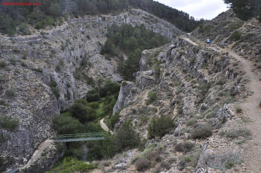 Vistas desde el Barranco de la Hoz