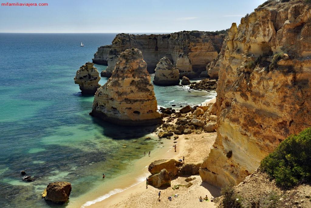 Playas del Algarve, Praia da Marinha
