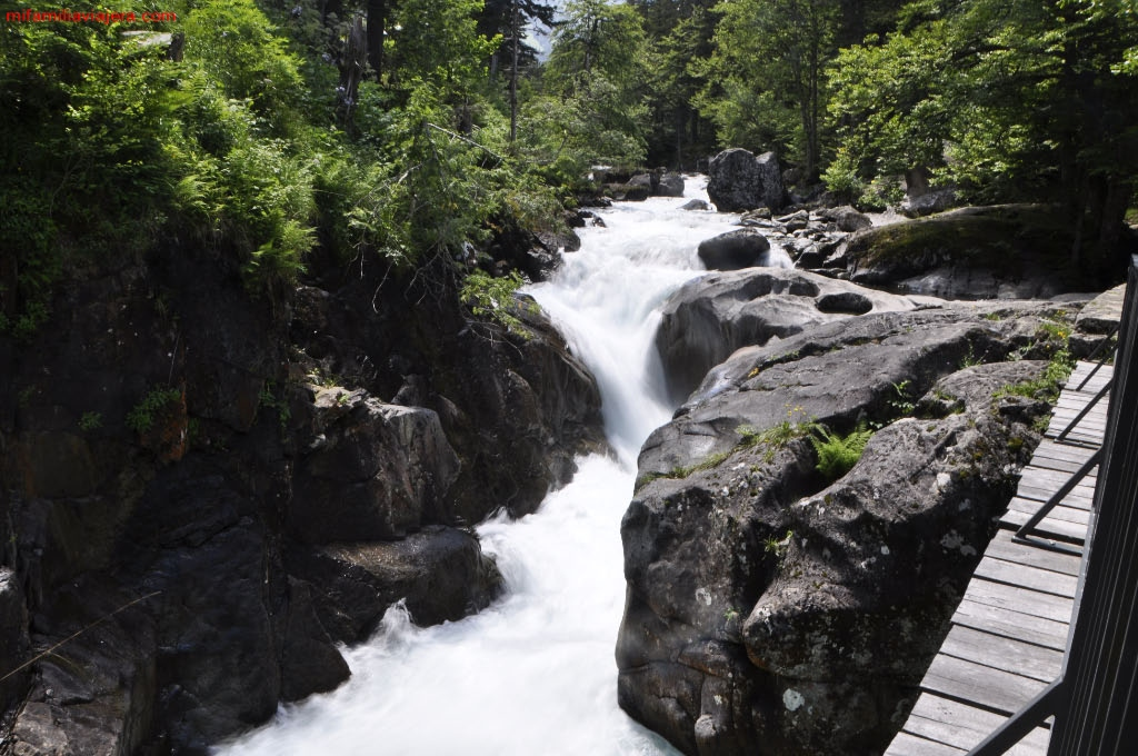 Río Marcadau, Cauterets