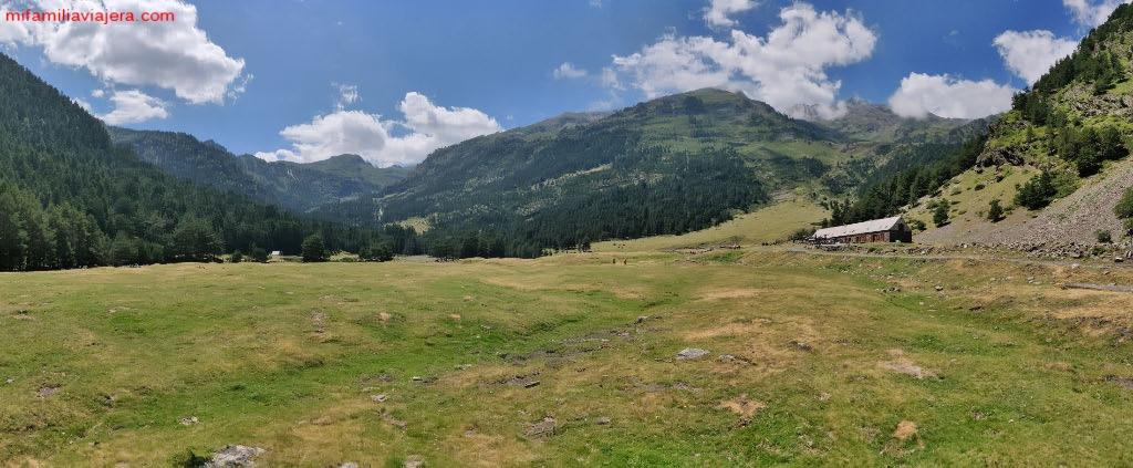 Panorámica Valle de Rioumajou