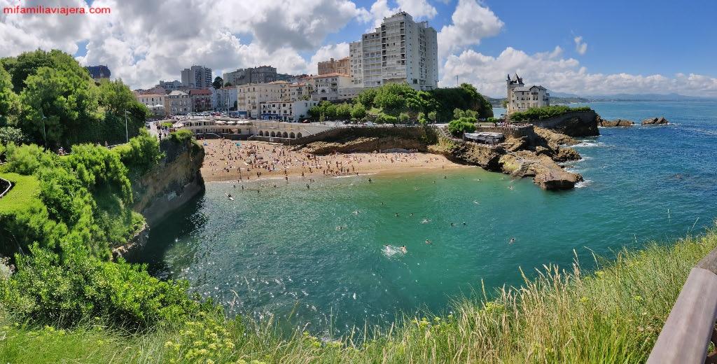Plage du Port Vieux, Biarritz
