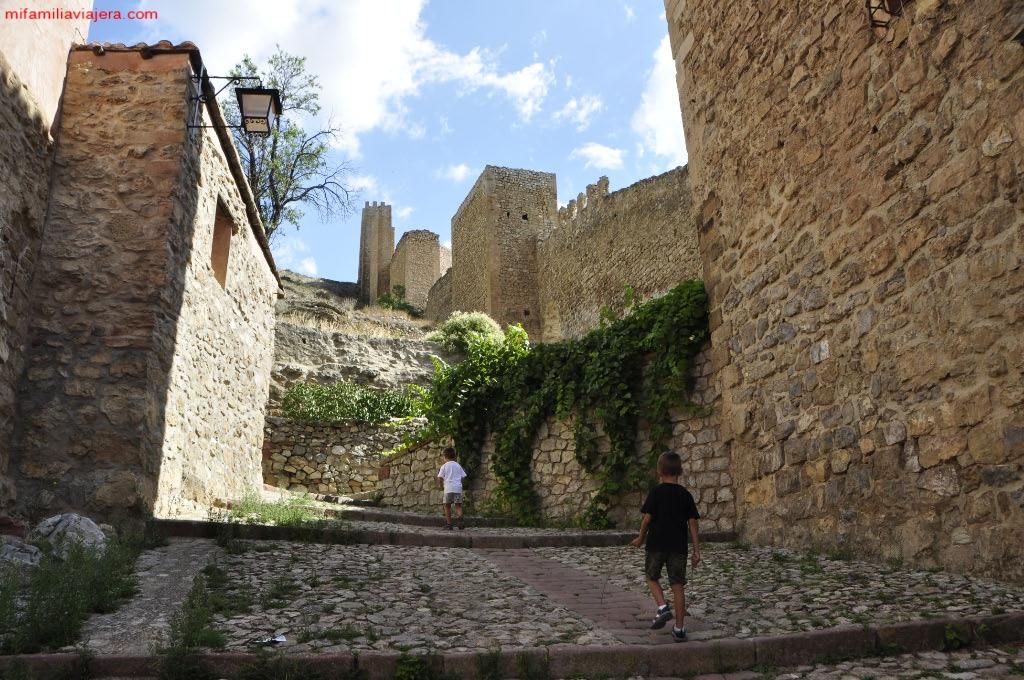 Subida al Castillo