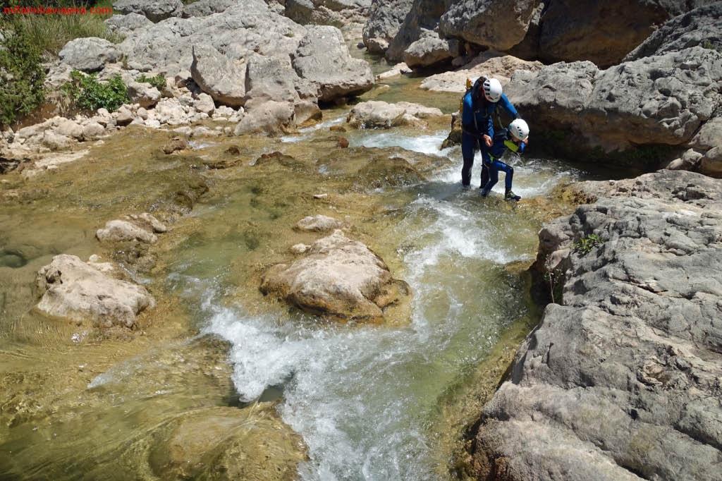 Barranquismo en la Sierra de Guara
