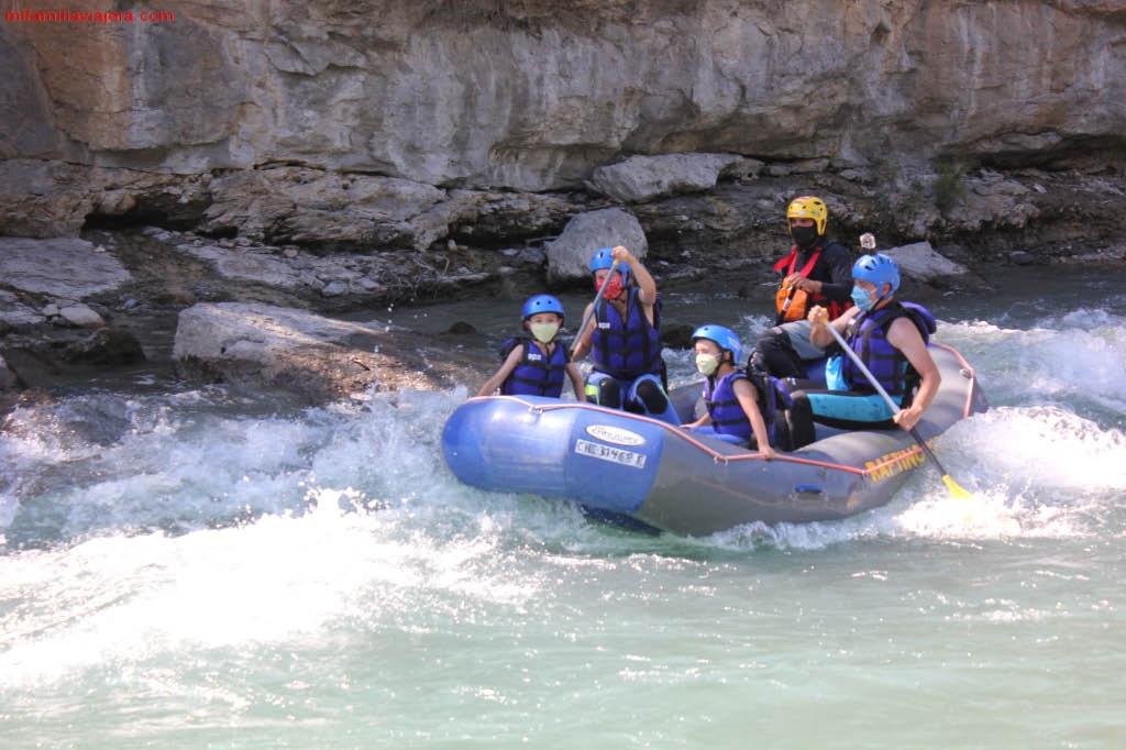 Descenso del río Ésera.