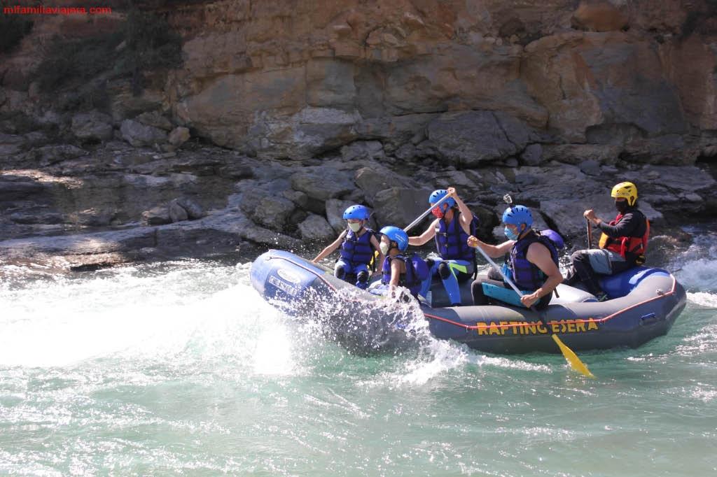 Rafting en el Pirineo de Huesca
