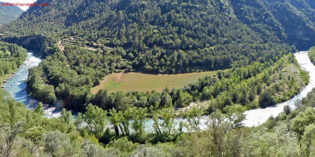 Río Ésera, Pirineo aragonés