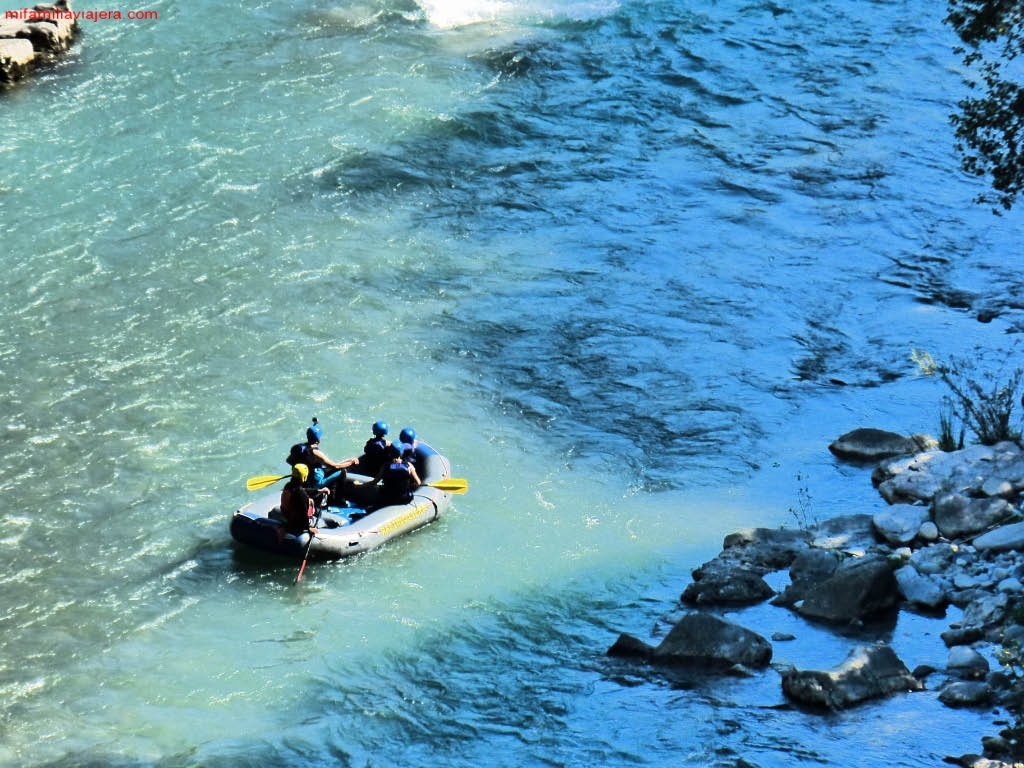 Rafting Pirineo de Huesca